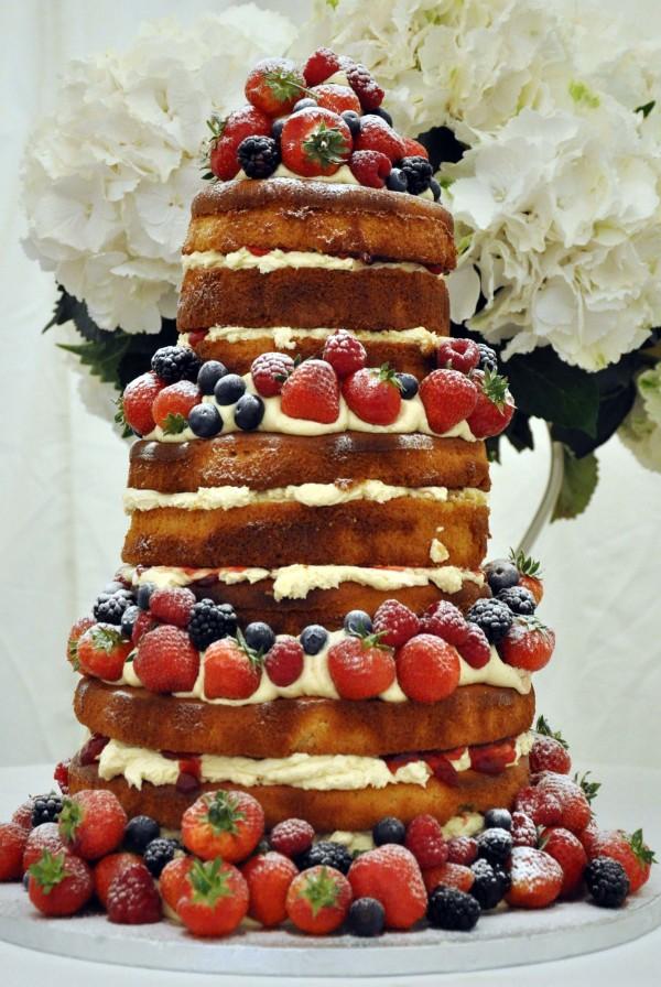 Rengarenk Düğün Pastaları