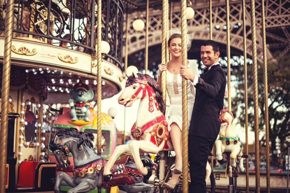 Keremcem & Seda Güven Paris Nikah…