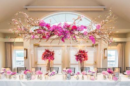 Farklı Konseptlerde Düğün Masaları