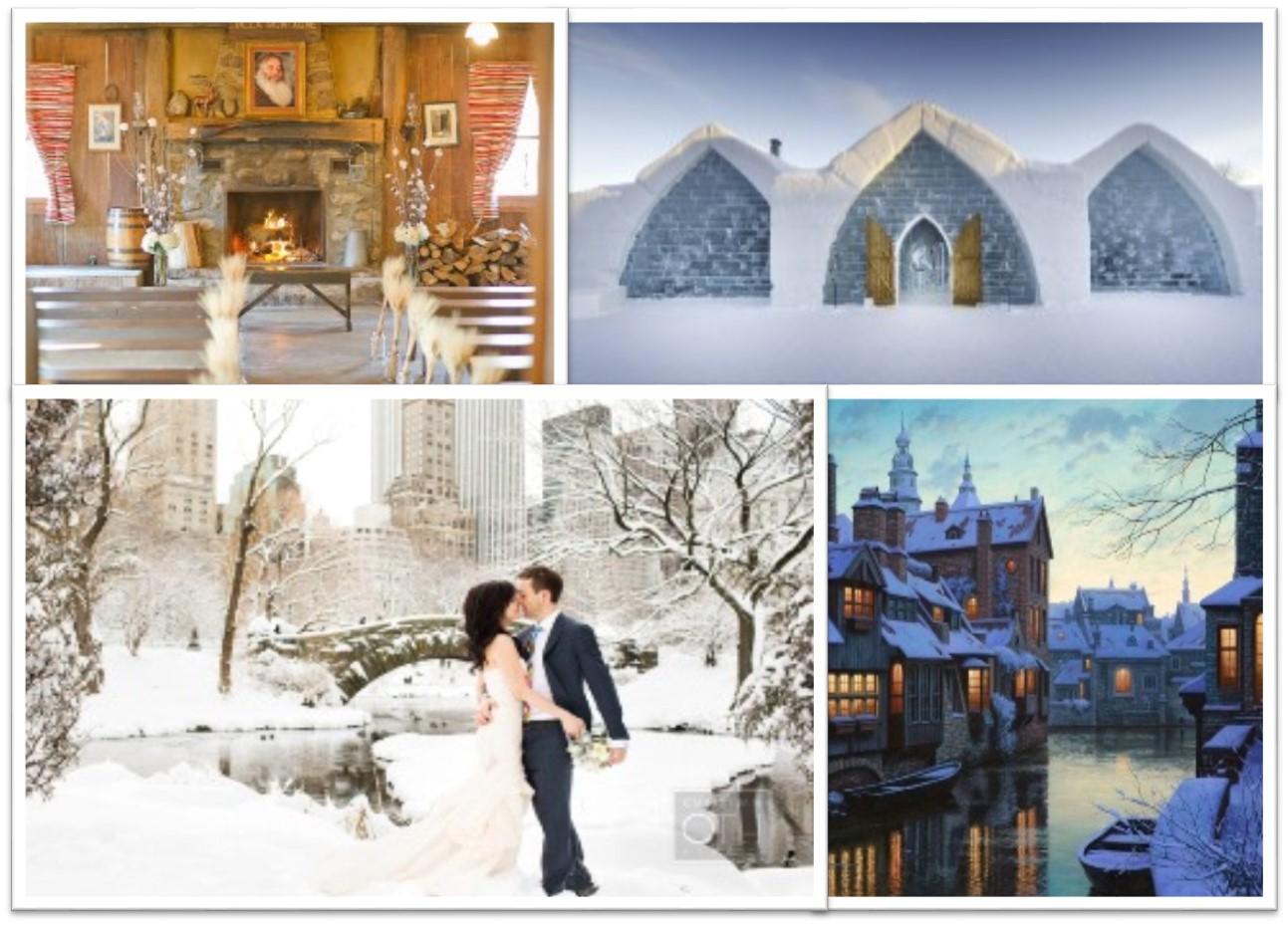 Büyülü 10 Kış Düğünü Destinasyonu